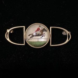 Vintage equestrian pin